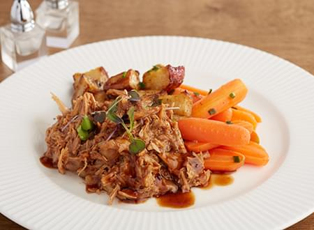 Top Chef Meals Low Carb Pulled Pork Meal