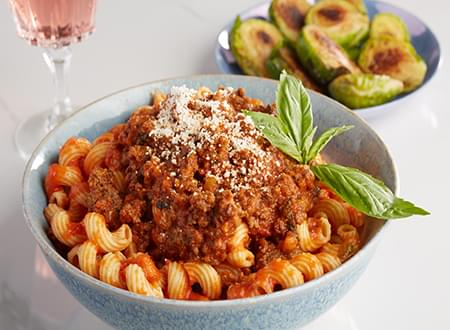 Top Chef Meals Cavatappi  Bolognese Pasta