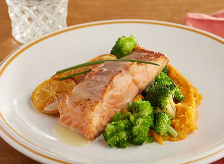 Top Chef Meals Dijon Salmon Recipe