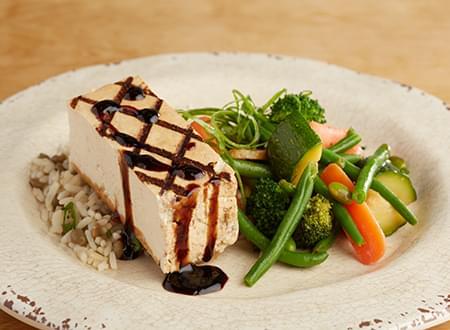 Grilled Balsamic Tofu