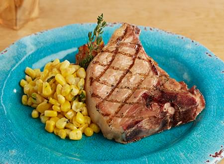 Top Chef Meals Low Carb Grilled Pork Chop