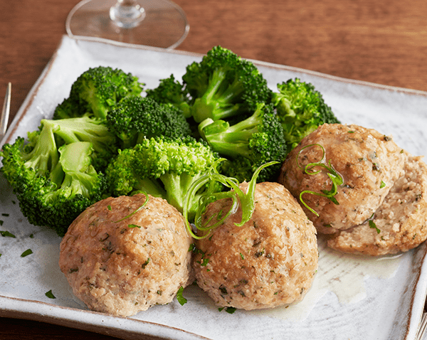 Low Carb Lemon Ginger Turkey Meatballs