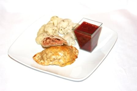 BBQ Pulled Turkey n Cheese Pocket