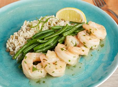 Low Carb Shrimp Scampi