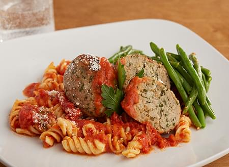 Low Carb Turkey Meatballs Marinara