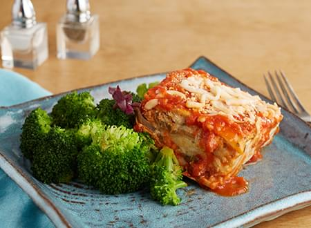 Vegetarian Low Carb Vegetable Cheese Lasagna