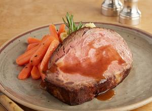 KETO: House Roasted Prime Rib with Carrots