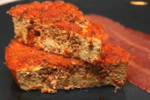 Baked Chorizo Sausage Omelet (P)