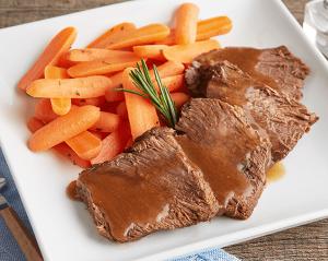 KETO: Braised Boneless Beef Short Rib with Carrots