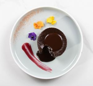 Chocolate Molten Saucy Cake