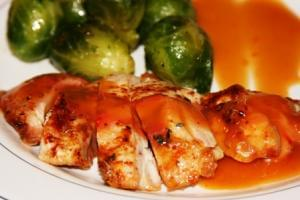 Mandarin Orange Ginger Chicken (P)