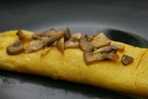 Mushroom Omelet (P)