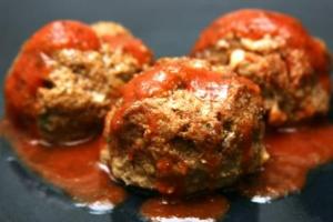 Italian Paleo Meatballs (P) with Zucchini (P)
