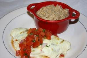 Mexican Salsa Omelet