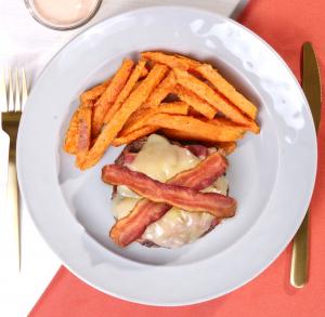 Bacon & Monterey Jack Burger