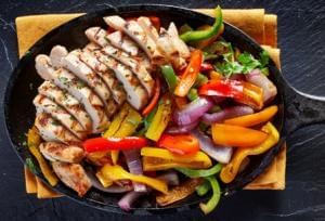 Chicken Fajitas (P)
