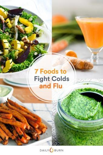 7 Top Foods To Help You Fight Cold And Flu.