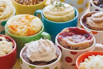 Simply Delicious Microwave Mug Dessert Recipe