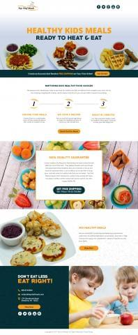 Top Chef Meals Kid Menus